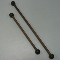 "11 inch 1/2"" Wooden Dowel with Ends"