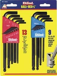 Eklind SAE/Metric Hex Key Set
