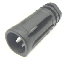 23396 Extended Length Birdcage Flash Hider - 1/2-28 A2