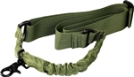 Green Single Point Bungee Sling