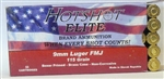 26720  Hotshot Elite 9mm Luger FMJ Brass 115 Grain 50 Round Box