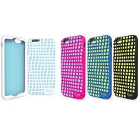 iLuv AI6AURW Aurora Wave ‐ Glowin‐Dark Silicon Case For iPhone 6