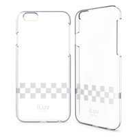 "iLuv AI6GOSS Gossamer ‐ Clear Hardshell Case For iPhone 6 (4.7"")"