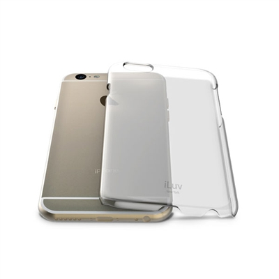 iLuv AI6PGOSS Gossamer Clear Hardshell case for iPhone 6 Plus