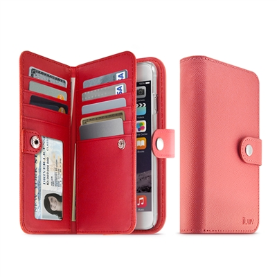 iLuv AI6PJSTRPN Jstyle Runway Premiun Leather Case for iPhone 6 Plus
