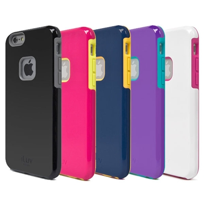 iLuv AI6PREGA Regatta Dual-layer case for iPhone 6 PLUS