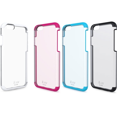 iLuv AI6VYNE Vyneer ‐ Dual Material Case For iPhone 6