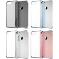 iLuv AI7VYNE Vyneer Durable Transparent Hardshell Case for iPhone 7/7S/8