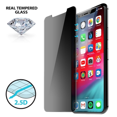 iLuv AIX25DTEMF 2.5D Privacy Tempered Glass for iPhone X/Xs