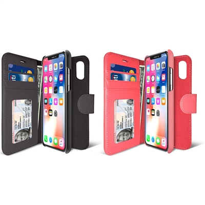 iLuv AIXDIAR iPhone X Premium Wallet Case