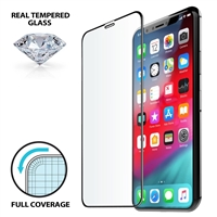 iLuv AIXFCSTEMF Full Cover Tempered Glass for iPhone X/Xs