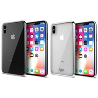 iLuv AIXMT iPhone X Soft Flexible Clear Lightweight Case