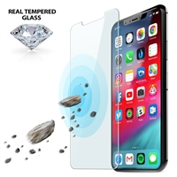 iLuv AIXPTEMF Tempered Glass Screen Protector Kit for iPhone Xs Max