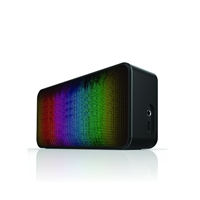 iLuv AM6PARTYBK Bluetooth speaker with party pulsed LED light