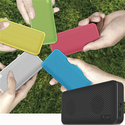 iLuv AUDMINI Aud Mini Slim Portable Bluetooth Speaker