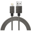 iWALKUSA 2.4A Stainless Steel Spring Wire Lightning Cable
