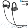 iLuv FITACTJET3BK Wireless Water Splash Proof In-Ear Sports Earphones