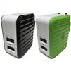 LAX Gadgets Dual USB 3.4 Amp Travel Wall Charger