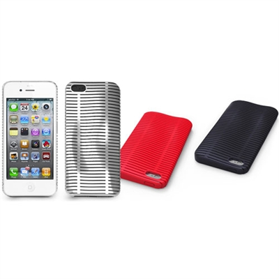 iLuv ICA7T324 Topog Mesh Softshell Case Protection for iPhone 5/5S/SE