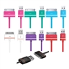 iLuv ICB21 Premium Charge/Sync Cable For iPhone, iPod, iPad