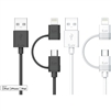 iLuv ICB267 2-in-1 Lightning Cable with Micro USB