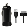 iLuv Micro-Size USB Car Charger with iPad/iPod/iPhone Cable