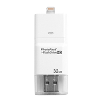 PhotoFast i-FlashDrive HD 32GB Lightning And 30 Pin Combo Kit