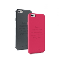 Puro Cover Claim Italia Independent for iPhone 6