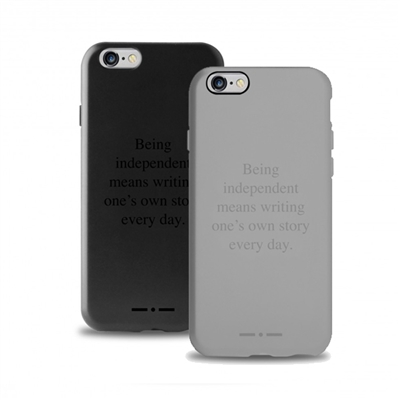 Puro Cover Claim Italia Independent for iPhone 6 Plus