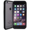 Puro Soft Touch Bumper Cover Black W/ Screen Protector for iPhone 6