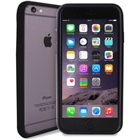 Puro Soft Touch Bumper Cover Black for  iPhone 6 Plus