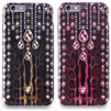 Puro Just Cavalli Antishock Leopard Crystal Cover for iPhone 6/6S