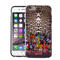 Puro Just Cavalli Antishock Cover for iPhone 6 Leo Tiger Garden Black