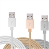 LAX Gadgets Apple MFi Certified 10 Feet Lightning to USB Cable for Charging & Sync