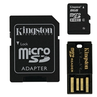 Kingston MBLY4G2/8GB 8GB Mobility/Multi Kit