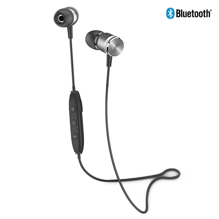 iluv metal forge air metallic bluetooth headphones. Black Bedroom Furniture Sets. Home Design Ideas