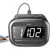 iLuv MORCAL2HULBK Morning Call 2 Hotel Bluetooth Dual Alarm Clock