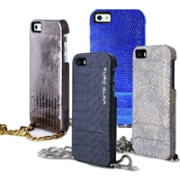 Puro Glam Cover Chain Ecoleather Cover For iPhone 5/5S/SE