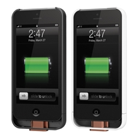 Duracell Powermat PRCA5 PowerSnap Kit - Backup Power & Wireless Charging For iPhone 5