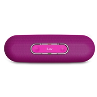 iLuv ROLLICK Portable Bluetooth® Wireless Stereo Speaker