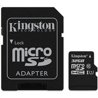 Kingston SDCS/32GB 32GB Canvas Select Class 10 microSDHC Card