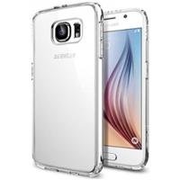 Lax Gadgets Slim Clear Scratch-Resistant Case For Samsung Galaxy S6