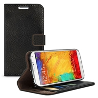iLuv SN3DIARBK Diary Premium Wallet Case with Stand For GALAXY Note 3