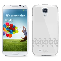 iLuv SS4GOSS Gossamer Clear PC Case For GALAXY S4