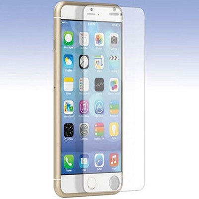 Lax Gadgets Tempered Glass Screen Protector for iPhone 6 Plus