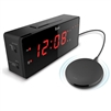 "iLuv TimeShaker Wow 1.4"" Jumbo LED Dual Alarm Clock"