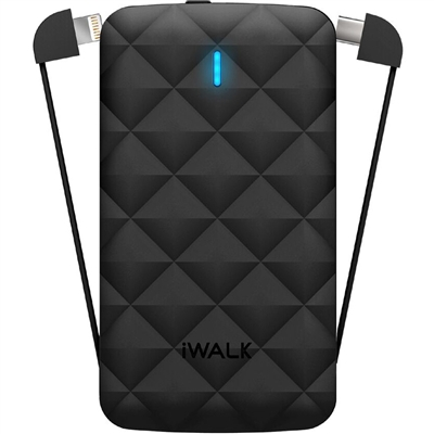 iWalk Duo 2.0 3,000mAh Rechargeable Battery For Apple Lightning & Type C Devices
