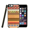 LAX Gadgets Natural Wood Case (Aztec) for iPhone 6