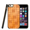 LAX Gadgets Natural Wood Case (Squares) for iPhone 6
