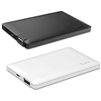 iLuv myPower25 2,500 mAh Slim Portable Battery Pack, Black or White